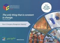 Emergency Management Conference is on 6 - 7 July 2021
